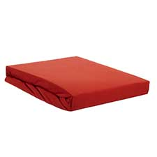 Beddinghouse Coral Red Katoen Topper hoeslaken
