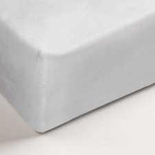 Auping White Katoen-Polyester Molton hoeslaken