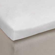 Auping White Katoen-Polyester Molton topper hoeslaken