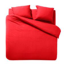 Cinderella Cabanon Red Jersey Dekbedovertrek