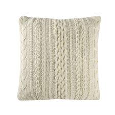 Cinderella Chamonix Wool White katoen Kussenhoes