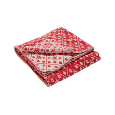 Damai Brann Red Katoen-Polyester Plaid