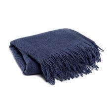 Damai Loft Indigo Wol-Acryl-Polyester-Alpaca Plaid