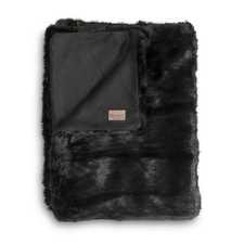 Heckett & Lane Blaze Zwart Acrylic-Polyester Plaid