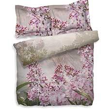 Heckett & Lane Blossom Multi Katoen-Satijn Dekbedovertrek