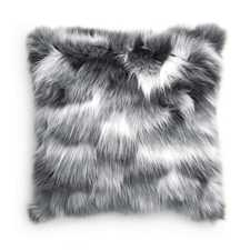 Heckett & Lane Branch Grijs Acrylic-Polyester Sierkussen