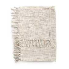 Heckett & Lane Cilian Off-White Acryl-Polyester Plaid