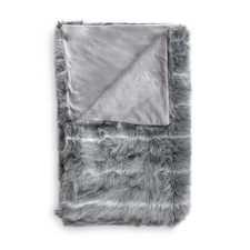 Heckett & Lane Cloud Grijs Acrylic-Polyester Plaid