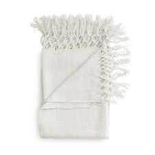 Heckett & Lane Danic Wit Acryl-Polyester Plaid
