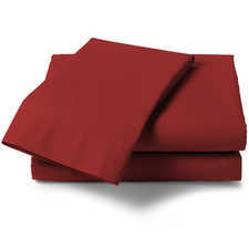 Heckett & Lane Perkal Aurora Red Percale-Katoen Laken