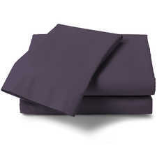 Heckett & Lane Perkal Velvet Purple Percale-Katoen Laken