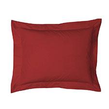 Heckett & Lane Satijn Aurora Red Katoen-Satijn Kussensloop