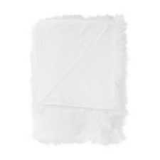 Heckett & Lane Yeti Off-White Acrylic-Polyester Plaid