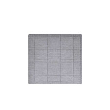 House in Style Tarifa Grey Linnen-Katoen Plaid