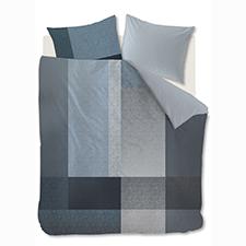 Kardol & Verstraten Privileged Bluegrey Katoen-Satijn Dekbedovertrek