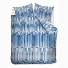 Kardol & Verstraten Titanium Blue Katoen-Satijn Dekbedovertrek