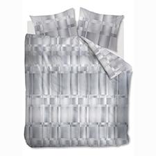 Kardol & Verstraten Titanium Grey Katoen-Satijn Dekbedovertrek